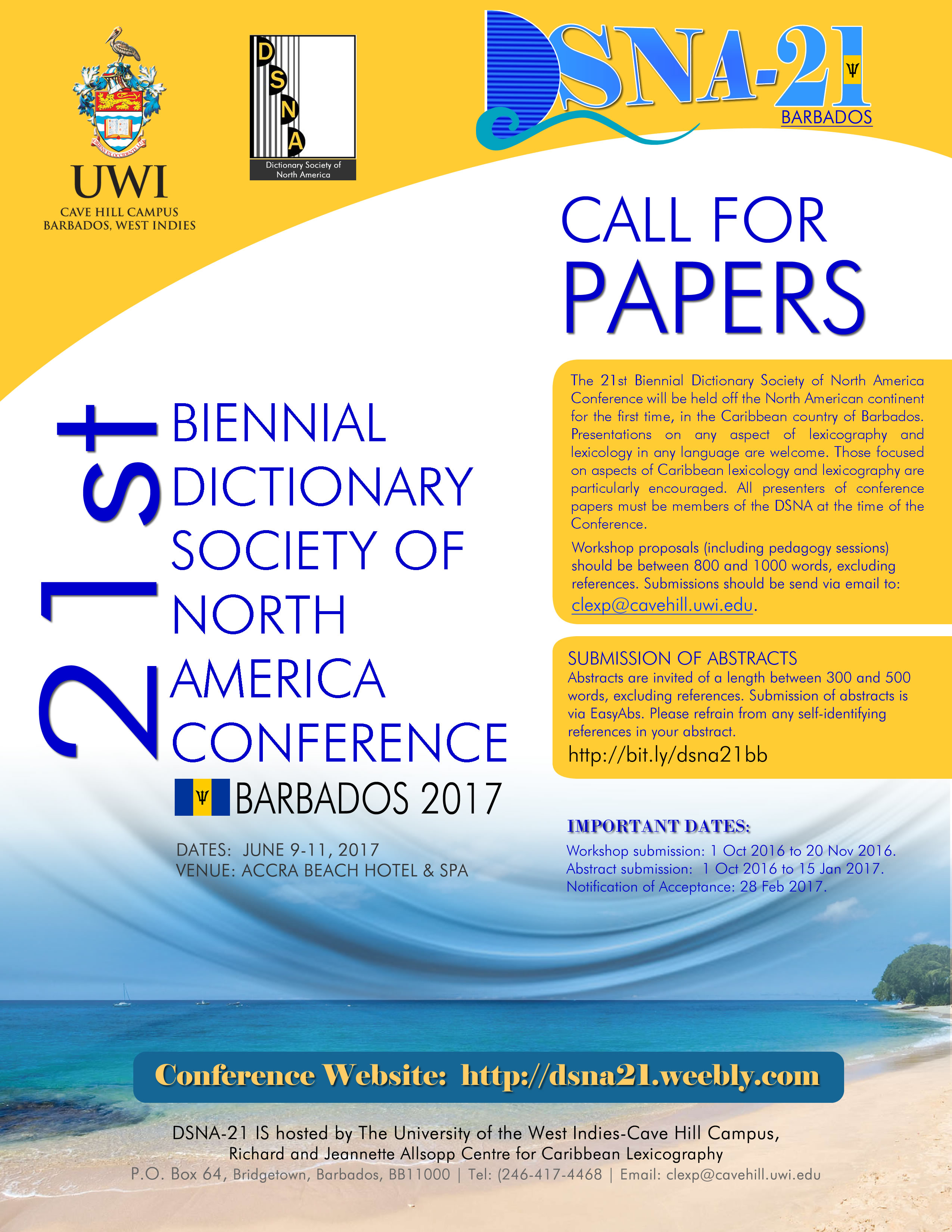 Please help us share the Conference Flyer.